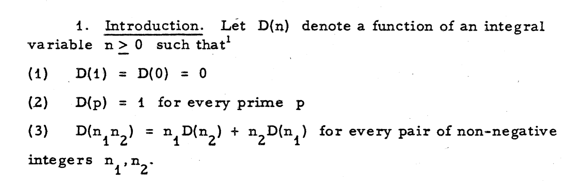 The Derivative Of A Number   Gödel's Lost Letter and P=NP